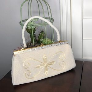 Mr. John Vintage Beaded Bag